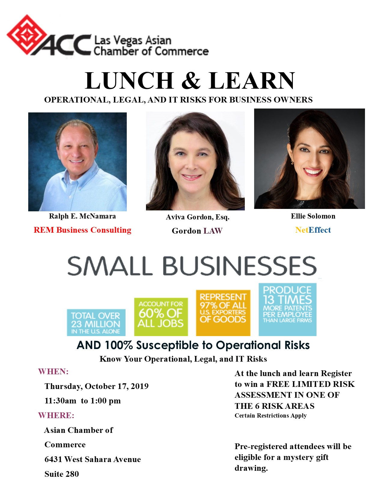 Lunch & Learn @ Asian Chamber of Commerce
