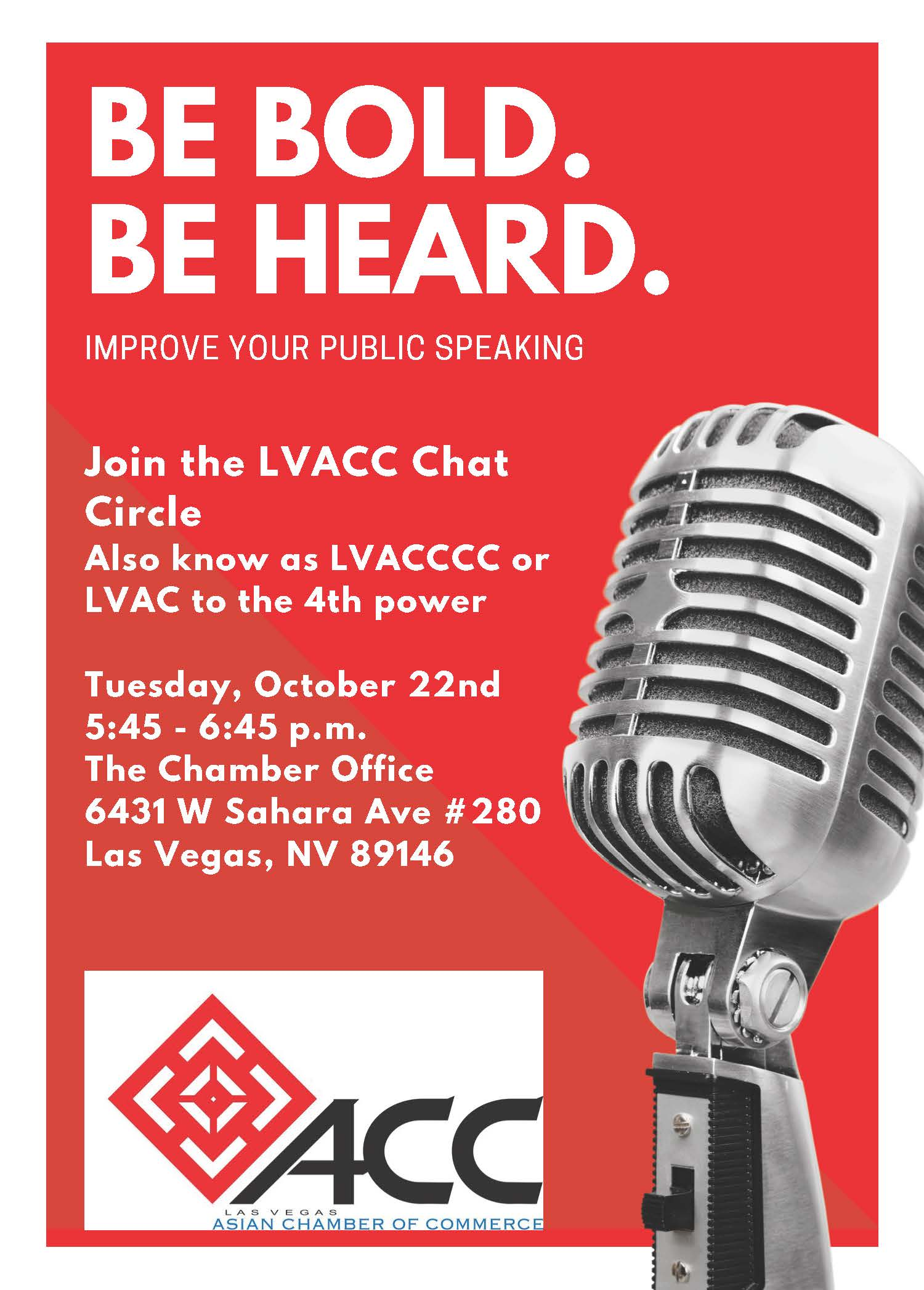 LVACC Chat Circle @ Asian Chamber of Commerce Office