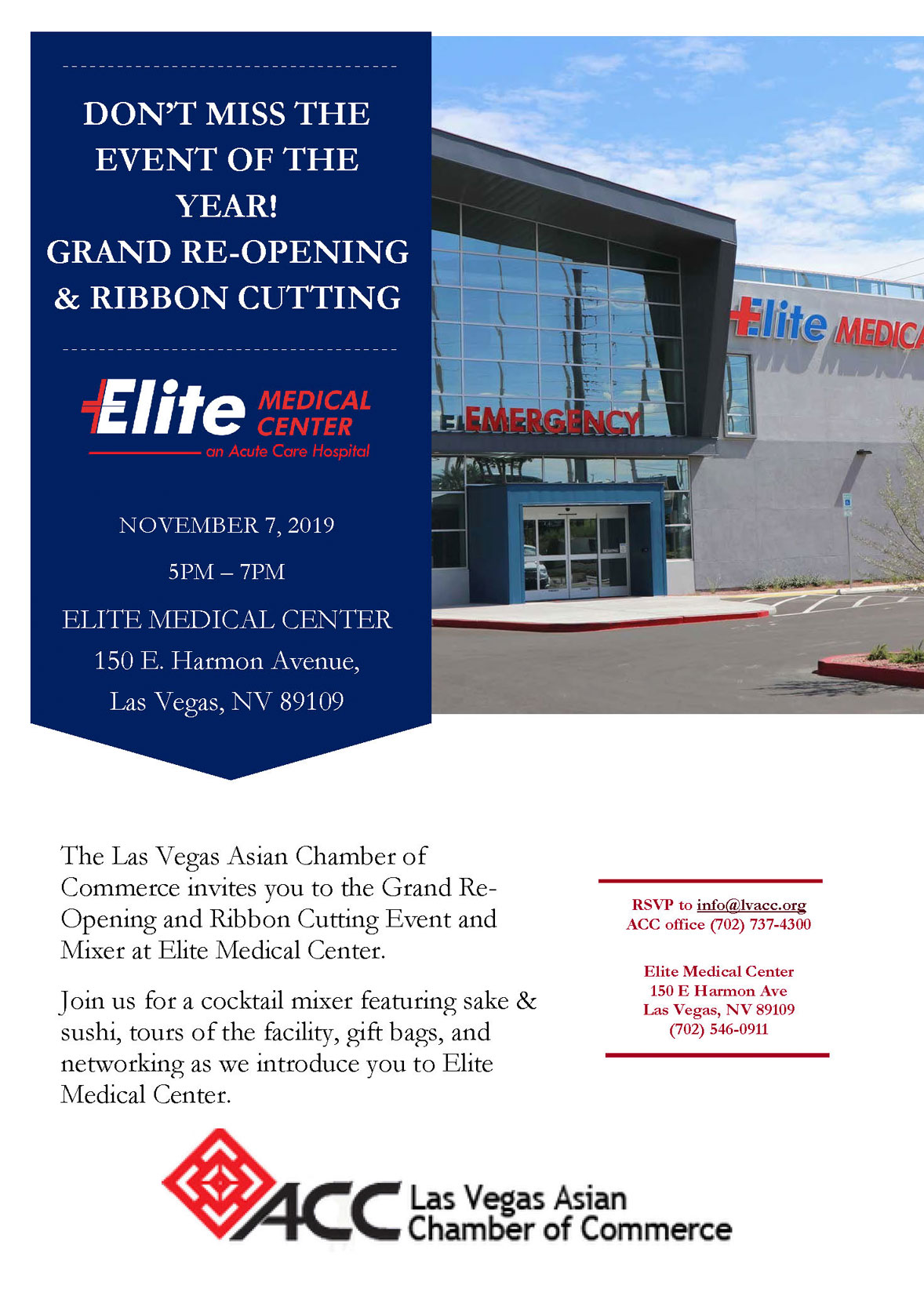 Grand Re-Opening and Ribbon Cutting - Elite Medical Center @ Elite Medical Center