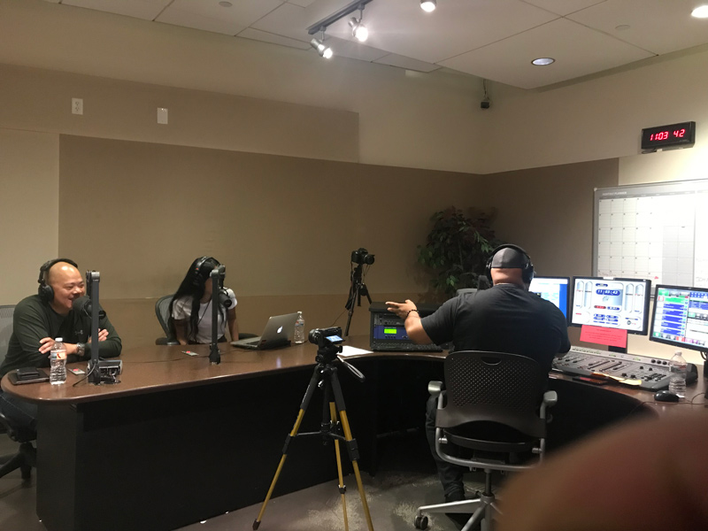 Visiting with 91.5 Grass Shack 2019