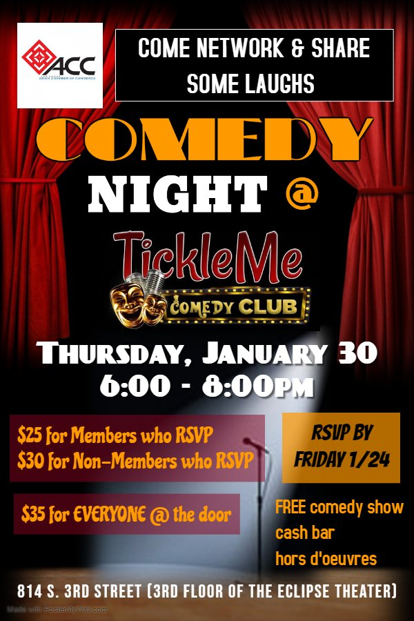 Networking Mixer @ TickleMe Comedy Club
