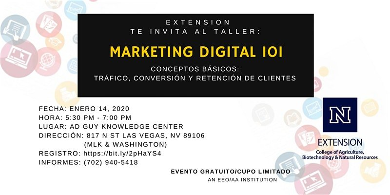 MARKETING DIGITAL: CONCEPTOS BASICOS @ A.D. Guy Center