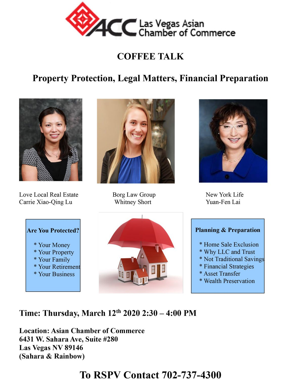 March Coffee Talk @ Asian Chamber of Commerce