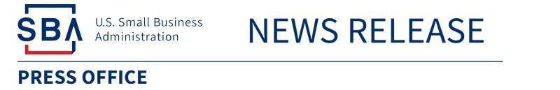Small Business Administration News Release Logo
