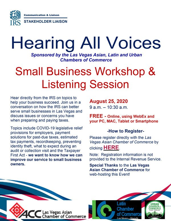 Las Vegas Flyer - Hearing All Voices
