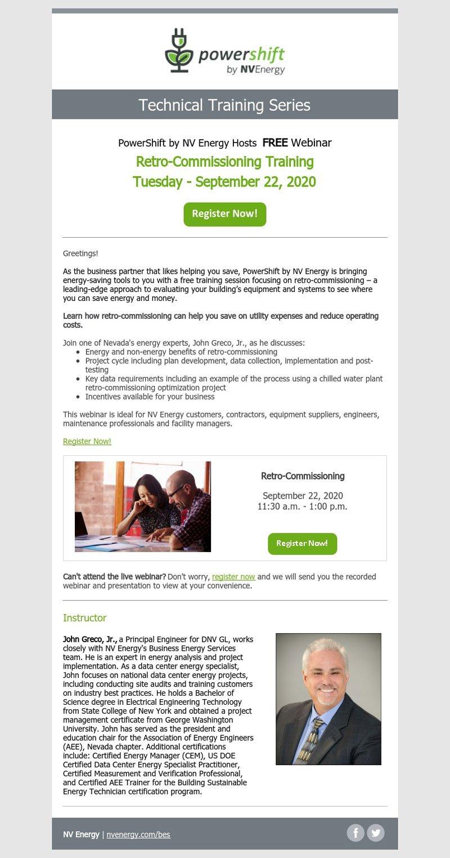 Technical Training Series: Retro-Commissioning Training