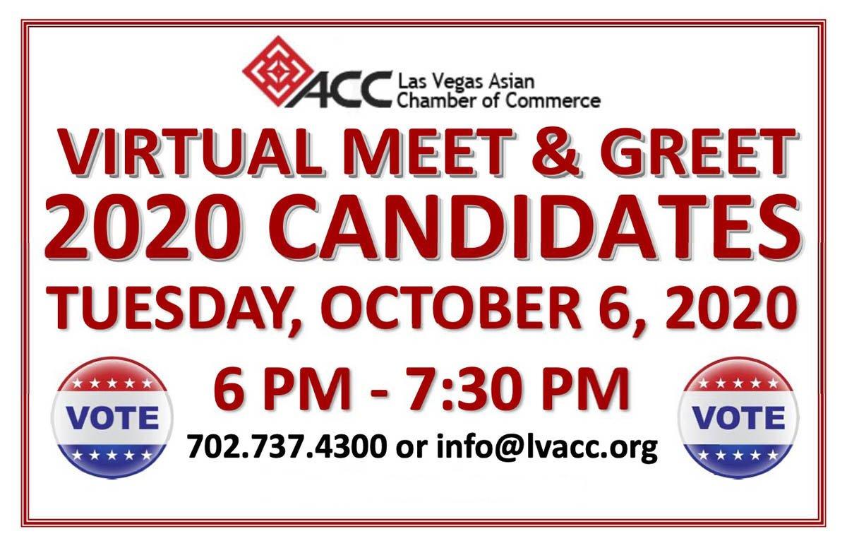 Virtual Meet & Greet 2020 Candidates