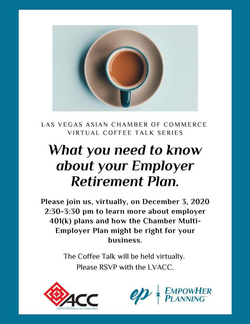 Coffee Talk - What you need to know about your Employer Retirement Plan
