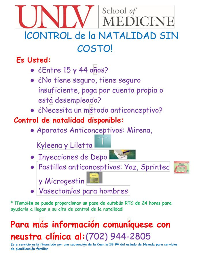FP Grant Flyer Spanish