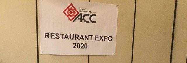 Restaurant Exposition January 2020