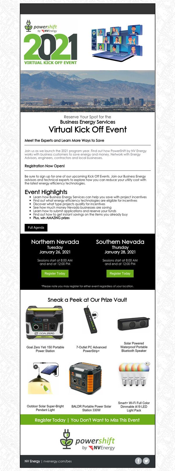 NV Energy's Business Energy Services - Southern Nevada