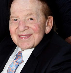 Sheldon Adelson in 2019