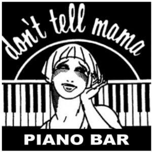 Don't Tell Mama - Piano Bar logo