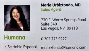 Maria's Business Card