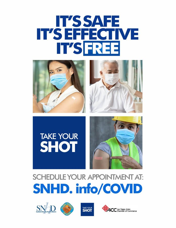 SNHD Take our shot campaign