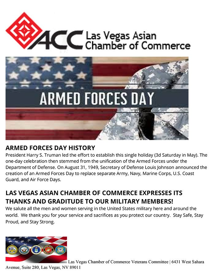 ACC ARMED FORCES DAY 2021