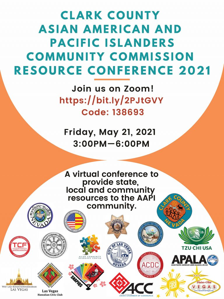 CLARK COUNTY ASIAN AMERICAN AND PACIFIC ISLANDERS COMMUNITY COMMISSIONN
