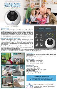 Smart Air Purifier Ozone