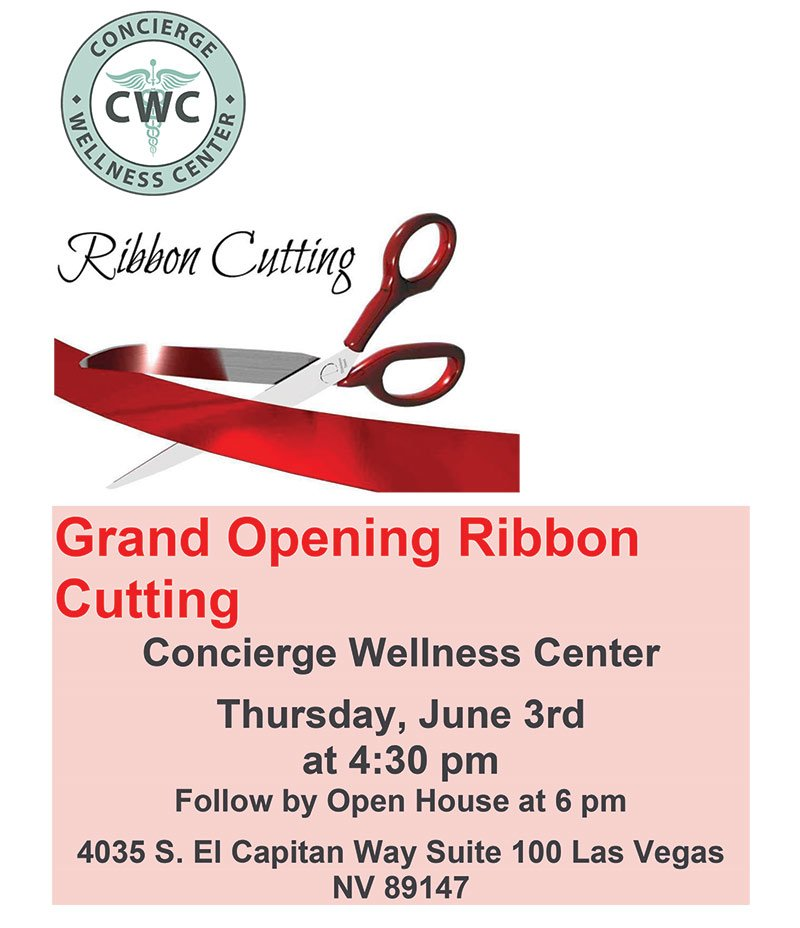 Grand Opening Ribbon Cutting - Concierge Wellness Center