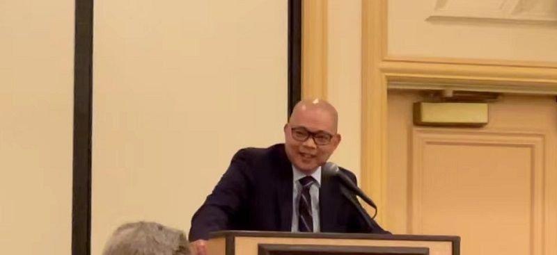 Sonny Vinuya, President of the Asian Chamber of Commerce.