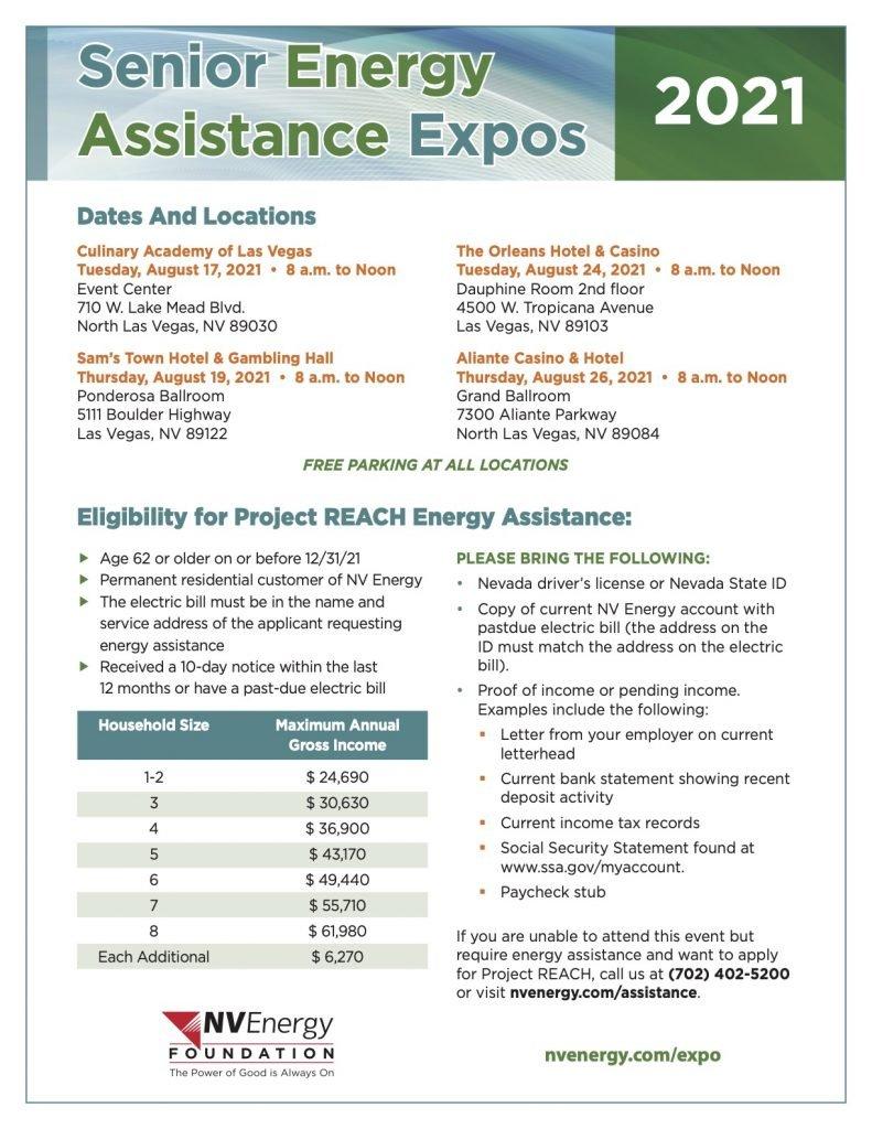 2021 Senior Expo Flyer_Dates & Locations