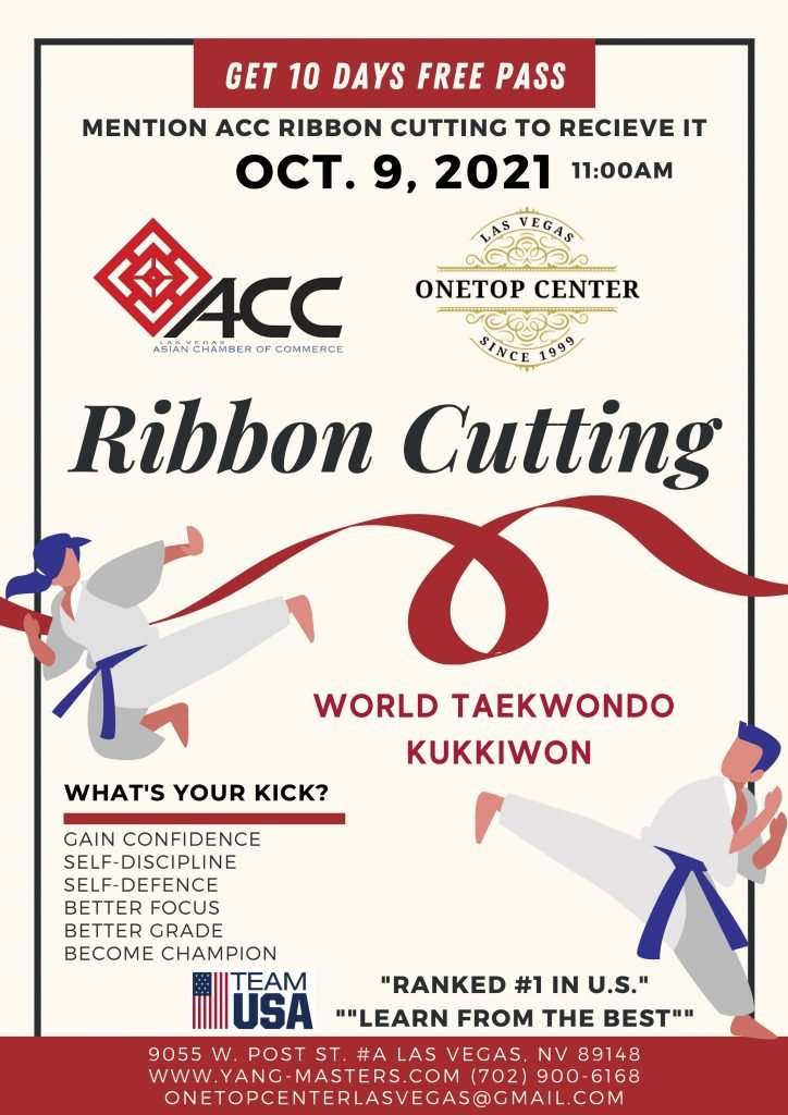 Ribbon Cutting: OneTop Center World Taekwondo Kukkiwon