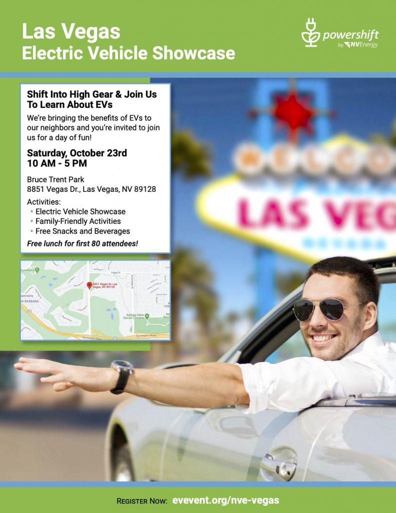 Las Vegas Electric Vehicle Showcase